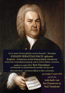 Concertmis met Bach - kerk Zwaneven op 31 maart om 10.15 u. @ Kerk Zwanven | Oud-Turnhout | Vlaanderen | België
